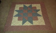 Starburst Shelia Quiltghan baskets-crochet-quilt
