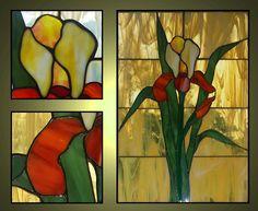 irys #glassatelier , #witraże , #stainedglass , #tiffany , #witraż
