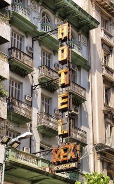 Montevideo-Hotel REx