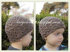 Lacy Crochet: Crochet Blocks Toddler Beanie, Free Pattern