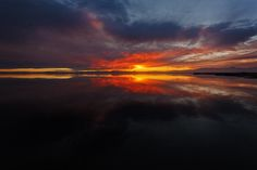 Sunset on the Salton Sea by Mike Olbinski on 500px