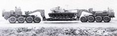 March Military Campaign – Another double-ended tank transporter