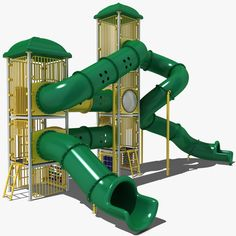 Playground Model available on Turbo Squid, the world's leading provider of digital models for visualization, films, television, and games. Piscina Playground, Playground Design, Children's Place, Kids Playing, Model, Outdoor, Outdoors, Boys Playing