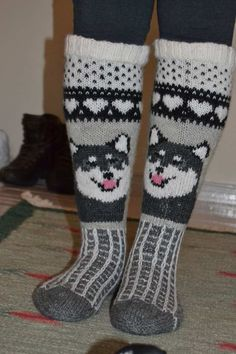 Knitting Stitches, Knitting Socks, Knitting Patterns, Crochet Socks, Knit Crochet, Wool Socks, Kids Socks, Crochet Woman, Stuffed Animal Patterns