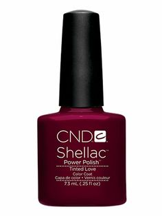 CND Shellac in Tinted Love - Pefect fall transition colour. LOVE IT !!!!