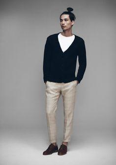 Samuji Spring/Summer 2015 Vince Cardigan Tee Shirt Presley Trousers