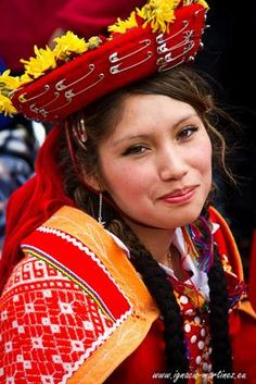 Girl in traditional costume - April 2012 Peru Photo Contest
