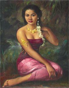 Portrait of a Dancer - Basuki Abdullah  Service Solahart Jakarta 081284559855  web:  http://www.solahartresmi.blogspot.com