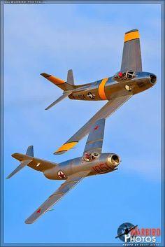 F-86F Sabre & Mig-15