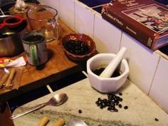 The mystique of making café de olla, Mexican coffee « Cooking in Mexico Coffee Around The World, Coffee Cafe, Mortar And Pestle, Mexico, Cooking, Collection, Art, Kaffee, Kitchen