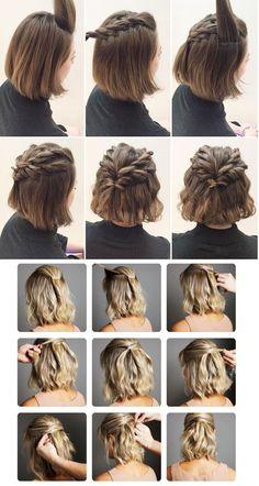 Simple hairstyles on your own! , Closet da Re closet fazer penteados