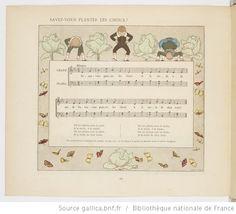 Vieilles chansons et rondes pour les petits enfants, notées avec des accompagnements faciles / par Ch. M. Widor ; Illustrations de M. Boutet de Monvel - 52
