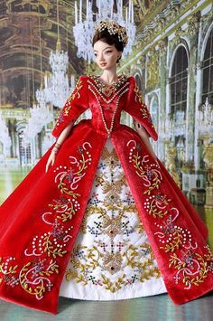 97-7.  OOAK dress 'Catherine' for Enchanted Dolls by Natalia Sheppard, via Flickr