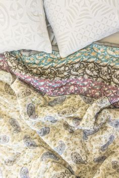 Colour me Paisley Reversible King Size Summer by VanessaMarian