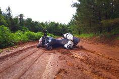 Honda CB500X dobrodružství v Mississippi