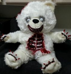 "Valentine's Day Gift Teddy Bear 25"" Zombie Bear Halloween Haunted House Prop | eBay"
