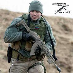Kalashnikov operator.