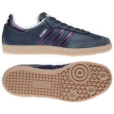 37e4af55fca Adidas shoes in charcoal grey   purple - my colors!