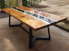 Meja resin river flow trembesi Jepara atau biasa disebut dengan resin suar wood conference table Resin, Ping Pong Table, Wood Table, Projects, Furniture, Home Decor, Log Projects, Blue Prints, Decoration Home