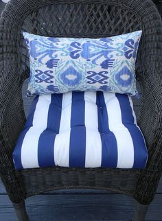 Indoor / Outdoor Wicker Cushion And By PillowsCushionsOhMy, $44.96