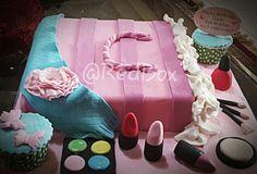 Cosmetic bags Chocolate Cake
