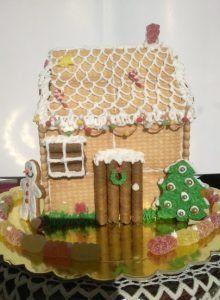 Εύκολη συνταγή για Χριστουγεννιάτικα σπιτάκια από πτι μπερ! | ediva.gr Gingerbread, Deco, Cooking, Desserts, Christmas, Cakes, Recipes, Noel, Kitchen