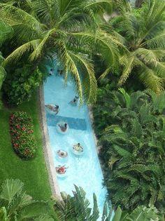 Grand Mayan Nuevo Vallarta: lazy river- worth every minute