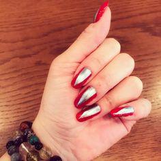 Today's nail art💅🏻✨ #christmasnail#christmas#nail#nailart#クリスマス#クリスマスネイル