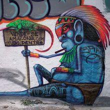 O artista Fabio de Oliveira, o Cranio, trabalha nas ruas de São Paulo com graffiti desde 1998.