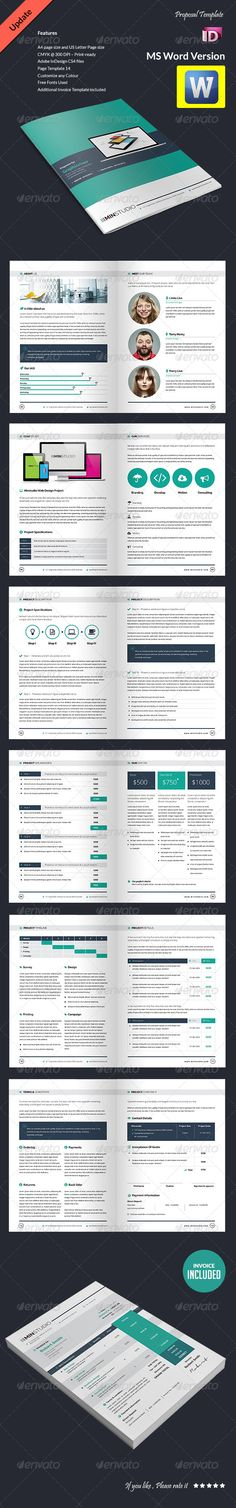 Generic Proposal - Full Business Proposal Template Business - microsoft office proposal templates