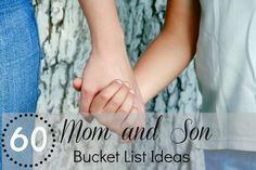 60 Mom and Son Bucket List Ideas