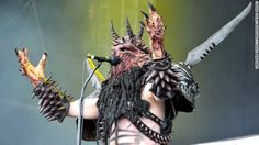 """Gwar lead singer Dave Brockie died Sunday, March 23, at 50, his manager said. His heavy metal group formed in 1984, billing itself as """"Earth's only openly extraterrestrial rock band."""" Brockie, Gwar's frontman, performed in the persona of Oderus Urungus."""