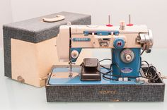 MORSE Deluxe Zig Zag Model 4700 Vintage Metal Sewing Machine    if you appreciate beautiful engineering, it is hard not to appreciate this Morse