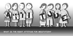 What is the right attitude for meditation? —Sayadaw U Tejaniya (cartoon by Hor Tuck Loon) Attitude, Meditation, Mindfulness, Cartoon, Cartoons, Consciousness, Comics And Cartoons, Zen