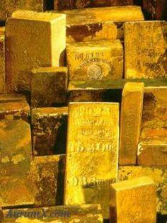 Antiquated Gold Bricks