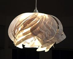 Ali Hanging Pendant Lamps.    http://www.etsy.com/shop/OctoberDesignCompany