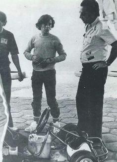 Ayrton Senna, F1, kart racing