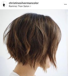 Fun everyday textured messy versatile short bob cut hairstyle || Carefree bed head hair || Casual beach look for any season || Style haircut as naturally wavy, straight, or deconstructed tousled soft loose waves w/a curling wand or flat iron