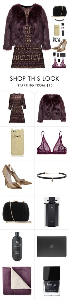 """era uma vez"" by ishipbullshit ❤ liked on Polyvore featuring Dolce&Gabbana, H&M, Kate Spade, Calvin Klein Underwear, Carbon & Hyde, Serpui, Gucci, Borghese, Incase and Butter London"