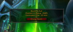 I guess I'm not playing wow tonight (spoiler login queue on Sargeras) #worldofwarcraft #blizzard #Hearthstone #wow #Warcraft #BlizzardCS #gaming