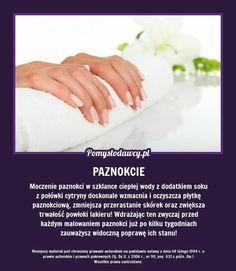 Beauty Spa, Diy Beauty, Beauty Hacks, Plank Workout, Healthy Nails, Manicure, Natural Medicine, Good Advice, Nail Tips