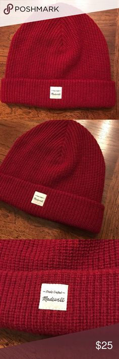 Madewell Slouchy Knit Beanie (Brand New) Brand new, never been worn beanie from Madewell. Tags still attached. Perfect condition. Madewell Accessories Hats