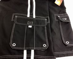 NEW OP Mens Solid Side Stripe Tugger Big Swimsuit Shorts Trunks 48-50 3XL/3XG  #OceanPacific #TrunksTuggerSwimsuitShortsBathingsuit