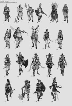 ArtStation - Character Thumbnails, Omercan Cirit