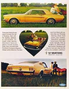 1967 Ford Mustang Ad...