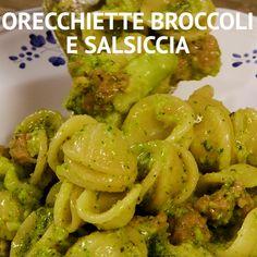 Pasta E Broccoli, Easy Dinner Recipes, Pasta Recipes, Cooking Recipes, Mexican Food Recipes, Vegetarian Recipes, Healthy Recipes, Healthy Cooking, Italian Recipes