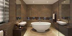 Bathroom Remodeling, Bathroom Decor, Black and White Bathrooms, Small Bathroom Ideas, Bathroom Remodel Contractors