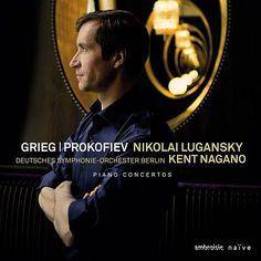 Prokofiev, Grieg: Piano Concertos de Nikolai Lugansky