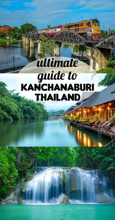 Kanchanaburi backpacking guide. All yo need to know. Things to do, places to stay, how to get from Bangkok, food plaes, prices, money saving tips.