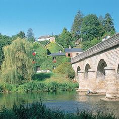 Clecy on the River Orne, capital of #Swiss #Normandy, #France